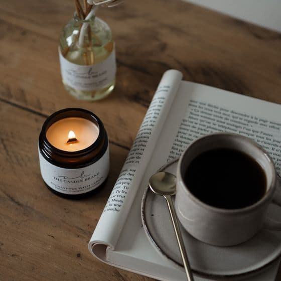 Candle Brand, Plum and Rhubarb Candle
